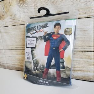 NWT DC Justice League Superman Costume S(4-6)
